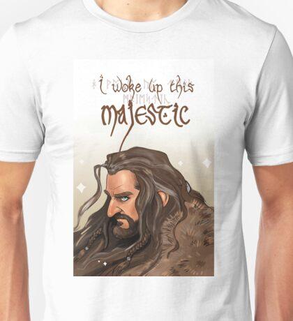 Woke up this majestic Unisex T-Shirt