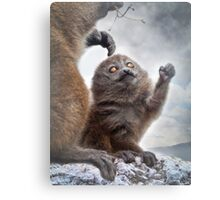 Please Mama! Canvas Print