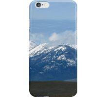 Blue Mountians Baker Oregon iPhone Case/Skin