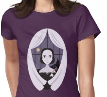 Mary Shelley Womens Fitted T-Shirt