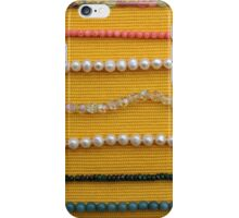 Multi colored beads iPhone Case/Skin