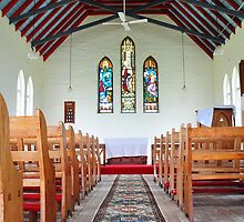 St Peter's Anglican Church, Bendolba NSW Australia by Bev Woodman