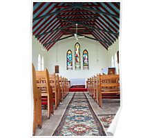 St Peter's Anglican Church, Bendolba NSW Australia Poster
