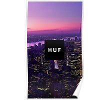 HUF - CITY Poster