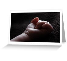 New Born 3 Greeting Card