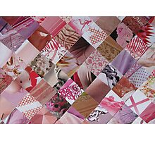 Pink card Photographic Print