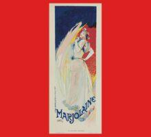 Les Affiches Illustrees 1886 1895 Ouvrage Orne de 64 Ernest Maindron Jules Cheret 1896 0057 Marjolaine Baby Tee