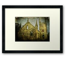 Old Church Facade Framed Print