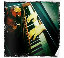 piano lesson/music series Poster