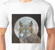 The Owl and the Moon Unisex T-Shirt
