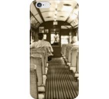 Travelling in time iPhone Case/Skin