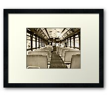 Travelling in time Framed Print