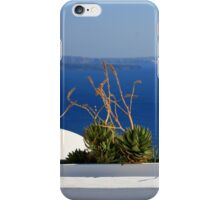Symmetry in Santorini  iPhone Case/Skin