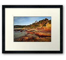 Bar Beach at Merimbula Framed Print