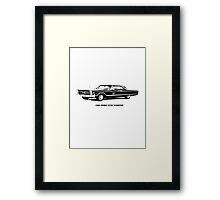 1966 Sport Fury Hardtop Framed Print