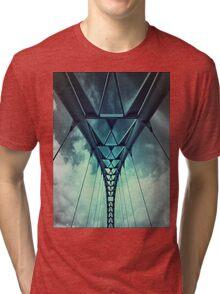Humber River Bridge Blue Tri-blend T-Shirt