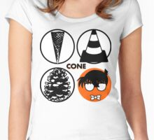 Cone: Orange Juice Flavour Women's Fitted Scoop T-Shirt