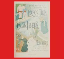 Les Affiches Illustrees 1886 1895 Ouvrage Orne de 64 Ernest Maindron Jules Cheret 1896 0115 Exposition One Piece - Short Sleeve