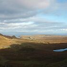 Panoramic view of the Quiraing, Isle of Skye, Scotland by Terry Senior