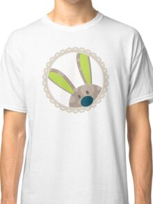 BUNNIES :: peeking circle 2 Classic T-Shirt