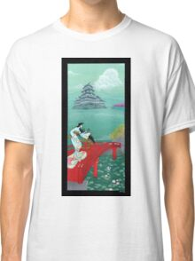 Japanese Woman - Castle Classic T-Shirt