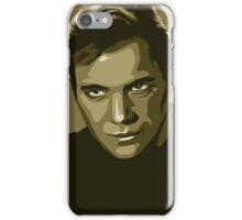 Captain Kirk stylized in gold (Star Trek) iPhone Case/Skin