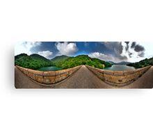 Tai Tam Tuk Reservoir - 360 Degree HDR Panoramic Canvas Print