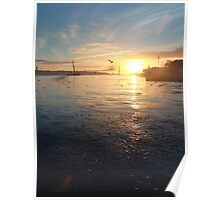 Sunset Tejo Poster