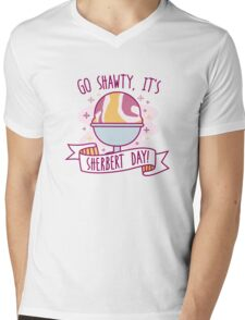 Sherbert Day Mens V-Neck T-Shirt