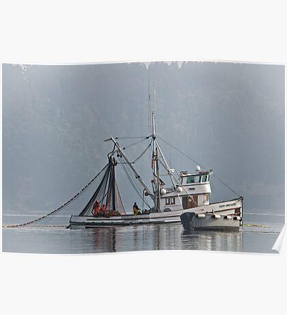 New Oregon Fishing X Poster