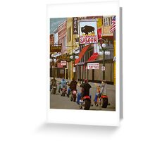Deadwood. From the original Art of Kathleen Carrier Greeting Card