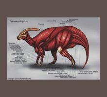 Parasaurolophus Muscle Study Kids Clothes