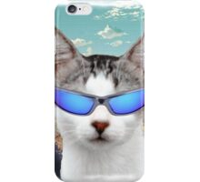 Groovy Cat with Cool Sunglasses iPhone Case/Skin