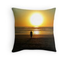Calm After The Search Throw Pillow