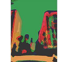 Acidic nature Photographic Print