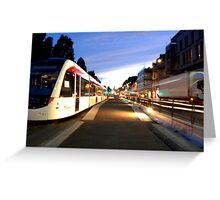 Edinburgh Trams Greeting Card