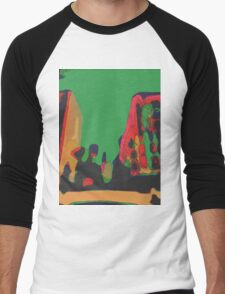 Acidic nature Men's Baseball ¾ T-Shirt