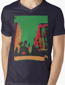 Acidic nature Mens V-Neck T-Shirt