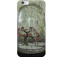 Snow Globe Bloosom trees iPhone Case/Skin