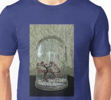 Snow Globe Bloosom trees Unisex T-Shirt