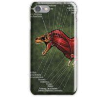 Tyrannosaurus Rex Muscle Study iPhone Case/Skin