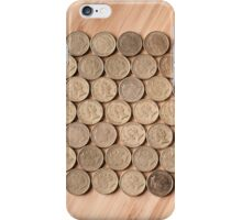 Coins in a Hexagonal Pattern iPhone Case/Skin