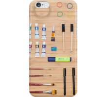 Art Supplies iPhone Case/Skin