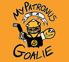 My Patronus is a Goalie (BOS Edition) Womens Fitted T-Shirt