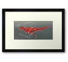 Carnotaurus Muscle Study Framed Print