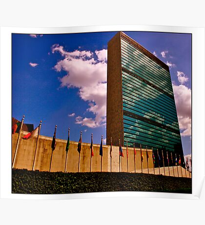 The United Nations Complex Poster