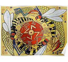 The Sun Wheel Poster