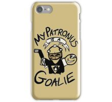 My Patronus is a Goalie (PIT Edition) iPhone Case/Skin