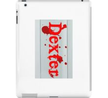 Dexter Bloodslide iPad Case/Skin