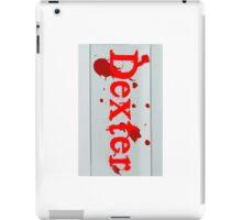 Dexter Bloodslide iPad Case/Skin